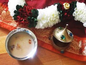 Coconut Milk Payasam / Sweetened Coconut Drink