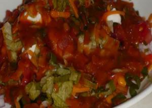 Mexican Bhel - Fusion Salad
