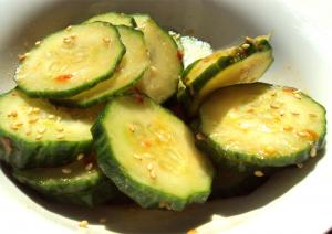 Cucumber Salad With Cider Vinegar