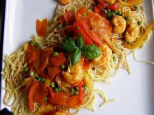 Shrimp Pasta Medley