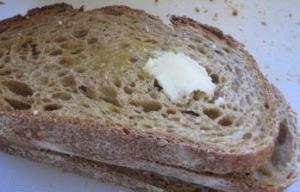 Butter is the favorite breakfast spread