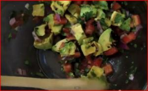 Grilled Avocado Salsa