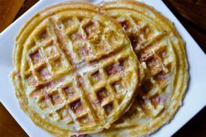 Date Coriander Waffles