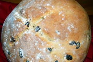 Olive Soda Bread
