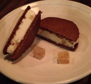 Ginger Snap Sandwiches