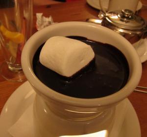 Chocolate-Marshmallow Fondue