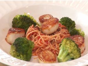 Amore by Wegmans Scallops with Capellini