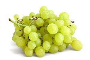 Green grapes are great for fruit salads