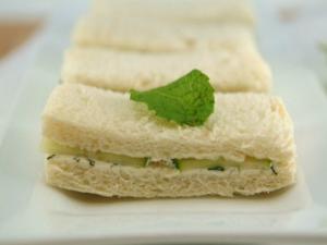 Betty's Pimiento Cream Cheese Finger Sandwich