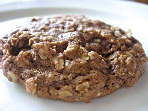 Milk Chocolate Oatmeal Cookies