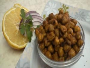 Roasted Chickpeas or Garbanzo Beans- Chhole Chana Garam