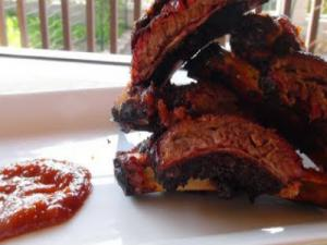 Center Cut Beef Ribs with Apple City BBQ Sauce