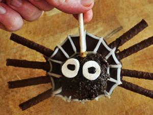 Jaffa Cake Truffle Spider