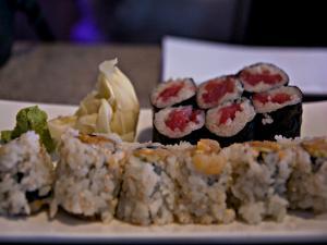 Organic Vegetarian Sushi Platter