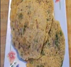 Spicy Rice Chilla