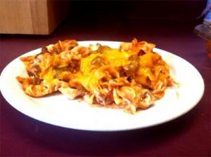 Cauliflower Beef Casserole