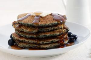 Spicy Oat Pancakes
