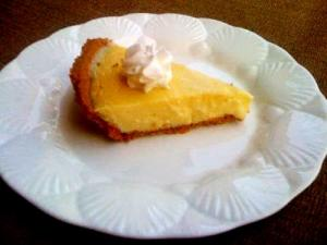Microwave Cooked Lime Pie