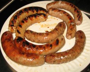 Barbecued Sausage