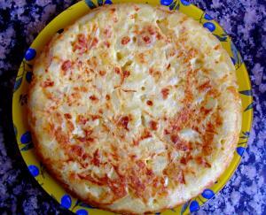Healthy Spanish Omelette