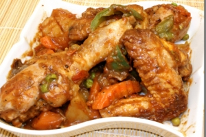 Spicy Chicken Afritada
