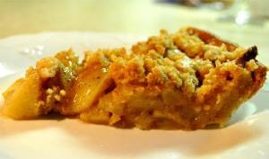 Crunchy Pear Pie