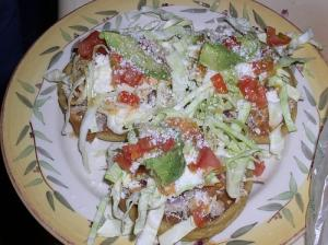 Homemade Sopes
