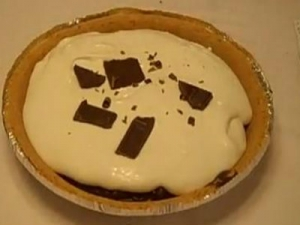 Chocolate Icebox Pie by Rosalie Fiorino Harpole