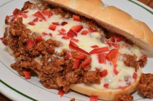 Cheese Topped Sloppy Joes