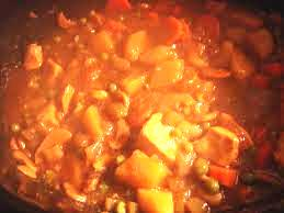 Chicken Stew with Smoked Paprika Flavor