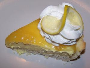 No Bake Lemon Cheese Pie