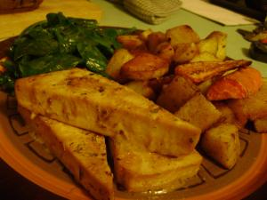 Lemon baked tofu makes an easy recipe