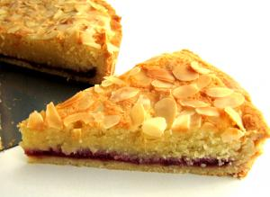 Almond and Jam Tart