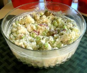 Sour Cream Potato Salad With Mayonnaise