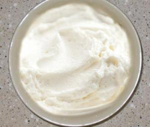 Vanilla Butter Cream Frosting