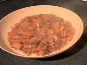 Zuza zak's Weeknight Dinners: Lentil and Tomato Curry with Brown Rice