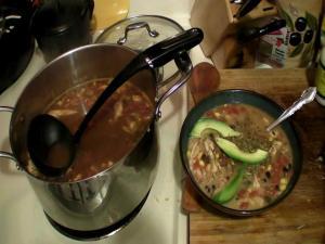 Sapo's Shicken Tortilla Soup