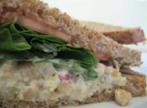 Mock Tuna Salad Sandwich