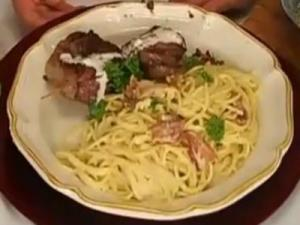 Spaghetti alla Carbonara by Rosalie Firoino Harpole
