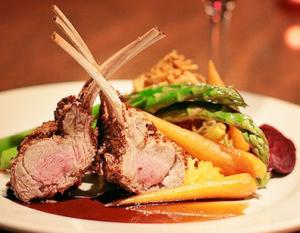 Valentine's Day Herb Crusted Rack of Lamb