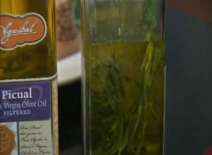 Garlic Herb Olive Oil Infusion