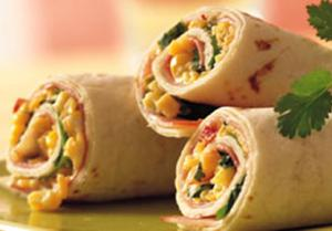 Cheese Tortilla Roll-Ups