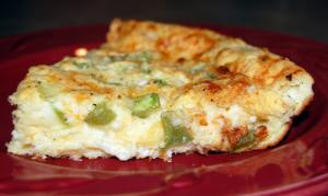 Triple-Cheese Pie