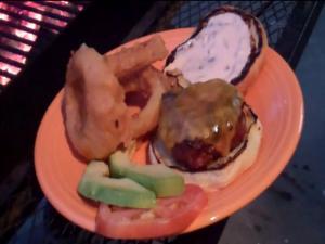 Tasty BBQ Burger