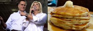 Pancakes + Peanut Butter- The Romney Combo