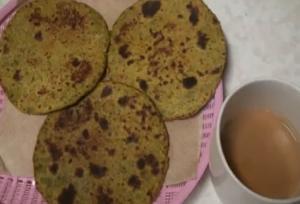 Tuvar Bhakri - Sindhi Koki - Pigeon Peas Flat bread