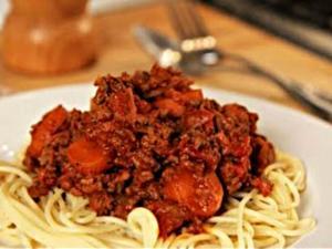Cook Along Spaghetti Bolognese