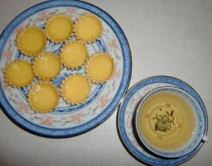 Hong Kong Mini Egg Tart, Dan Tat (Dim Sum )