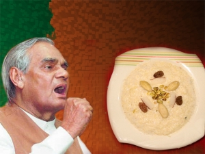 Former PM of India, Vajpayee can turn out a mean Kheer too.