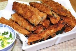 Crispy Eggplant With Eggs